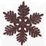 Het ornament van de sneeuwvlok royalty-vrije stock foto's