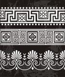Het ornament van Grek Stock Foto