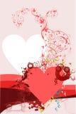 Het ornament van het hart stock illustratie