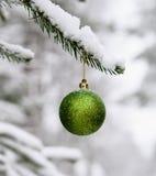Het ornament van het nieuwjaar Stock Afbeelding