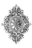 Het ornament van het ontwerp Royalty-vrije Stock Fotografie