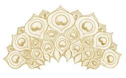 Het ornament van het ontwerp Stock Afbeeldingen