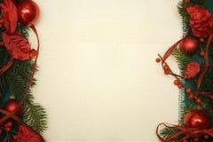 Het ornament van Kerstmis stock fotografie