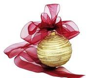Het ornament van Kerstmis Stock Foto