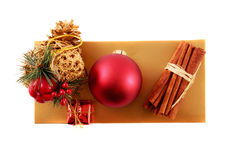 Het Ornament van Kerstmis Stock Afbeelding