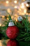 Kerstmisornament royalty-vrije stock foto's