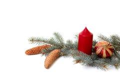 Het ornament van Kerstmis. Stock Afbeelding