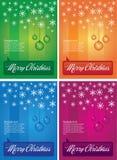 Het ornamentachtergrond van Kerstmis Stock Illustratie