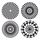Het ornamenttatoegering van Spirograph Royalty-vrije Stock Foto's