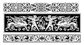 Het ornamentvector van de fee Stock Afbeelding