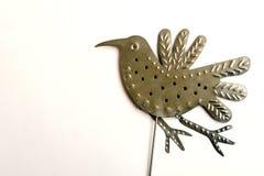 Het ornamentvogel van de tuin tijdens de vlucht Stock Foto's