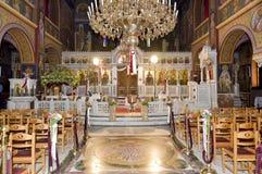Het orthodoxe Binnenland van de Kerk Royalty-vrije Stock Foto
