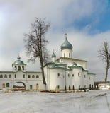 Het Orthodoxe Klooster van Krypetsky Royalty-vrije Stock Fotografie