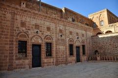 Het Orthodoxe Klooster van Mor Gabriele in het zuidoosten van Turkije royalty-vrije stock foto's