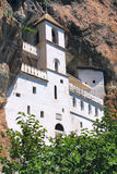 Het orthodoxe klooster van Ostrog, Montenegro Stock Fotografie
