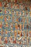 Het orthodoxe muurschildering schilderen Royalty-vrije Stock Foto