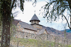 Het Klooster van Uvaz Royalty-vrije Stock Foto