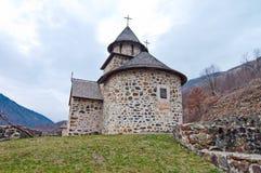 Het Klooster van Uvaz stock afbeeldingen