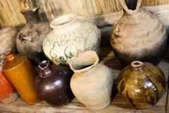 Het oude aardewerk Stock Afbeeldingen