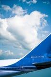 Het oude achterdetail van Boeing 747-200 Royalty-vrije Stock Foto's