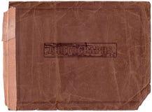 Het oude Aftasten van het Album van de Foto (het Knippen van n.v. Wegen) Stock Afbeelding
