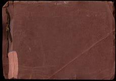 Het oude Aftasten van het Album van de Foto (het Knippen van n.v. Wegen) Royalty-vrije Stock Afbeelding