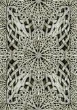 Het oude Arabesque-Kunstwerk van de Ornamentsteen stock illustratie