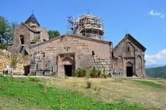Het oude Armeense klooster van Goshavank royalty-vrije stock afbeelding
