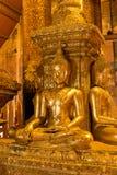Het oude beeld van Boedha Royalty-vrije Stock Afbeelding