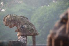 Het oude blijven van een tempel Royalty-vrije Stock Foto's