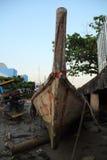 Het oude boot fihsing Royalty-vrije Stock Foto's