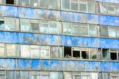 Het oude bulding - fabrieksbureau Stock Afbeelding
