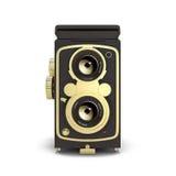 Het oude camera 3d teruggeven Royalty-vrije Stock Afbeelding