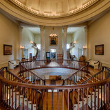 Het oude Capitool van de Staat van Illinois Stock Foto's