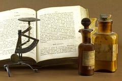Het oude chemische laboratorium Stock Afbeelding