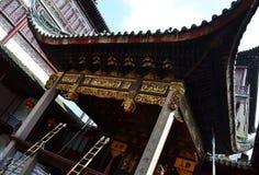Het oude Chinese kasteel van de tempelpagode stock afbeelding