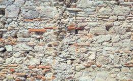 Het oude close-up van de steenmuur Royalty-vrije Stock Fotografie