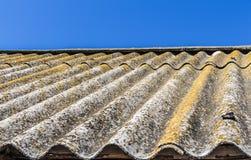 Het oude dak Royalty-vrije Stock Afbeeldingen