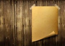 Het oude document van de affiche. Royalty-vrije Stock Foto's