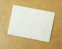 Het oude Document van de Foto Royalty-vrije Stock Afbeelding