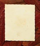Het oude Document van de Foto Stock Afbeelding