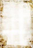 Het oude document van Grunge royalty-vrije illustratie