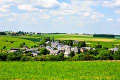 Het oude dorp van Ardennen Royalty-vrije Stock Afbeeldingen