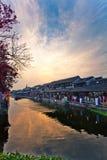 Het oude dorp van China Royalty-vrije Stock Afbeeldingen