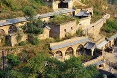 Het oude dorp van Huangheqikou Royalty-vrije Stock Afbeeldingen