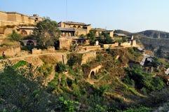Het oude dorp van Huangheqikou Royalty-vrije Stock Fotografie