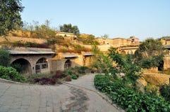 Het oude dorp van Huangheqikou Royalty-vrije Stock Foto's