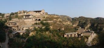 Het oude dorp van Huangheqikou Stock Fotografie