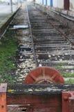 Het oude Einde van de Trein Royalty-vrije Stock Afbeelding