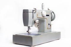 Het oude elektro het naaien maching Stock Foto's